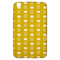 Circle Polka Chevron Orange Pink Spot Dots Samsung Galaxy Tab 3 (8 ) T3100 Hardshell Case