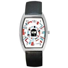 Twenty One Pilots Barrel Style Metal Watch