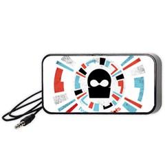 Twenty One Pilots Portable Speaker (black)