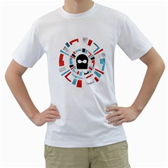Twenty One Pilots Men s T Shirt (white)