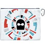 Twenty One Pilots Canvas Cosmetic Bag (XXXL) Back
