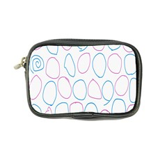 Circles Featured Pink Blue Coin Purse