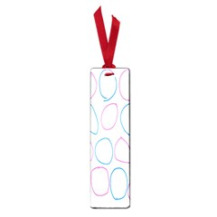 Circles Featured Pink Blue Small Book Marks