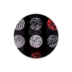 Twenty One Pilots Stressed Out Rubber Round Coaster (4 Pack)