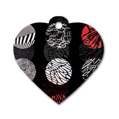Twenty One Pilots Stressed Out Dog Tag Heart (one Side)