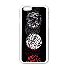 Twenty One Pilots Stressed Out Apple Iphone 6/6s White Enamel Case