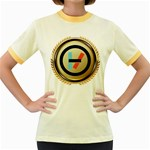Twenty One Pilots Shield Women s Fitted Ringer T-Shirts Front