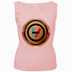 Twenty One Pilots Shield Women s Pink Tank Top