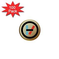 Twenty One Pilots Shield 1  Mini Buttons (100 Pack)