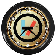 Twenty One Pilots Shield Wall Clocks (black)
