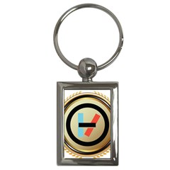 Twenty One Pilots Shield Key Chains (rectangle)