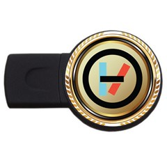 Twenty One Pilots Shield Usb Flash Drive Round (2 Gb)