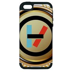 Twenty One Pilots Shield Apple Iphone 5 Hardshell Case (pc+silicone)