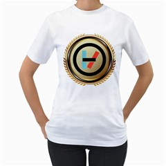 Twenty One Pilots Shield Women s T Shirt (white)