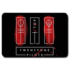 Twenty One Pilots Large Doormat