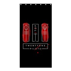 Twenty One Pilots Shower Curtain 36  X 72  (stall)
