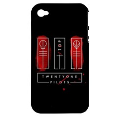 Twenty One Pilots Apple Iphone 4/4s Hardshell Case (pc+silicone)