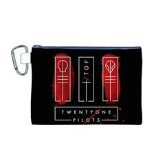 Twenty One Pilots Canvas Cosmetic Bag (m)