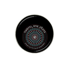 Twenty One Pilots Hat Clip Ball Marker (4 Pack)
