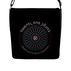 Twenty One Pilots Flap Messenger Bag (l)