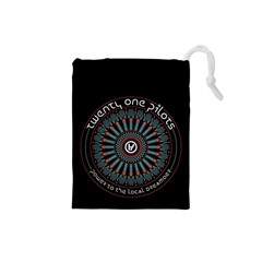 Twenty One Pilots Drawstring Pouches (small)