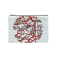 Twenty One Pilots Tear In My Heart Soysauce Remix Cosmetic Bag (medium)