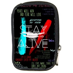 Twenty One Pilots Stay Alive Song Lyrics Quotes Compact Camera Cases