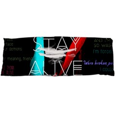 Twenty One Pilots Stay Alive Song Lyrics Quotes Body Pillow Case (dakimakura)