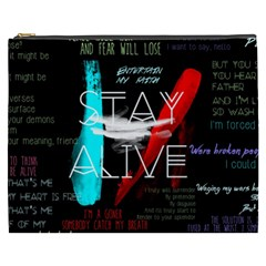Twenty One Pilots Stay Alive Song Lyrics Quotes Cosmetic Bag (xxxl)