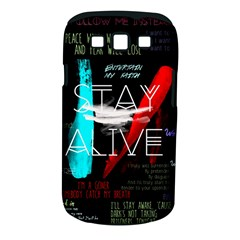 Twenty One Pilots Stay Alive Song Lyrics Quotes Samsung Galaxy S Iii Classic Hardshell Case (pc+silicone)