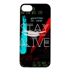 Twenty One Pilots Stay Alive Song Lyrics Quotes Apple Iphone 5s/ Se Hardshell Case