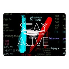Twenty One Pilots Stay Alive Song Lyrics Quotes Apple Ipad Pro 10 5   Flip Case