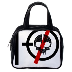 Twenty One Pilots Skull Classic Handbags (one Side)