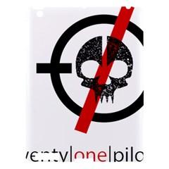 Twenty One Pilots Skull Apple Ipad 3/4 Hardshell Case