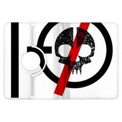 Twenty One Pilots Skull Kindle Fire Hdx Flip 360 Case