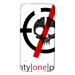 Twenty One Pilots Skull Samsung Galaxy S5 Back Case (white)