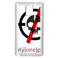 Twenty One Pilots Skull Samsung Galaxy Note 4 Case (white)