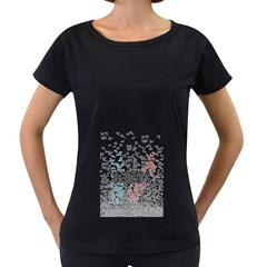 Twenty One Pilots Birds Women s Loose Fit T Shirt (black)