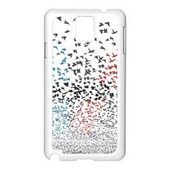 Twenty One Pilots Birds Samsung Galaxy Note 3 N9005 Case (white)