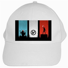 Twenty One 21 Pilots White Cap