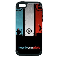 Twenty One 21 Pilots Apple Iphone 5 Hardshell Case (pc+silicone)