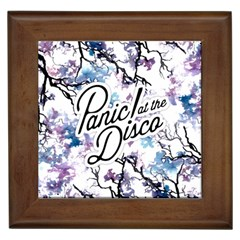 Panic! At The Disco Framed Tiles