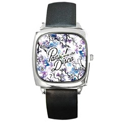 Panic! At The Disco Square Metal Watch