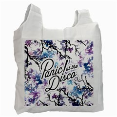 Panic! At The Disco Recycle Bag (two Side)