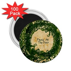 Panic At The Disco 2 25  Magnets (100 Pack)