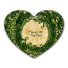 Panic At The Disco Heart Mousepads