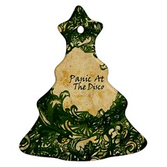 Panic At The Disco Christmas Tree Ornament (two Sides)