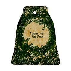 Panic At The Disco Bell Ornament (two Sides)