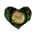 Panic At The Disco Standard 16  Premium Heart Shape Cushions Front