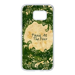 Panic At The Disco Samsung Galaxy S7 Edge White Seamless Case